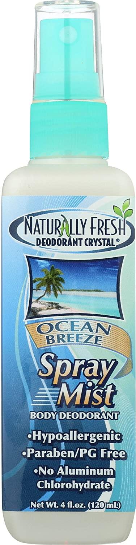 Naturally Fresh, Deodorant Spray Ocean Breeze, 4 Fl Oz