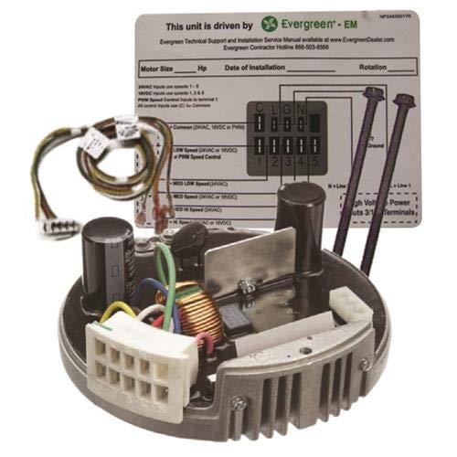 GE Genteq Evergreen 1/3 HP 230 Volt Replacement X-13 Furnace Blower Module