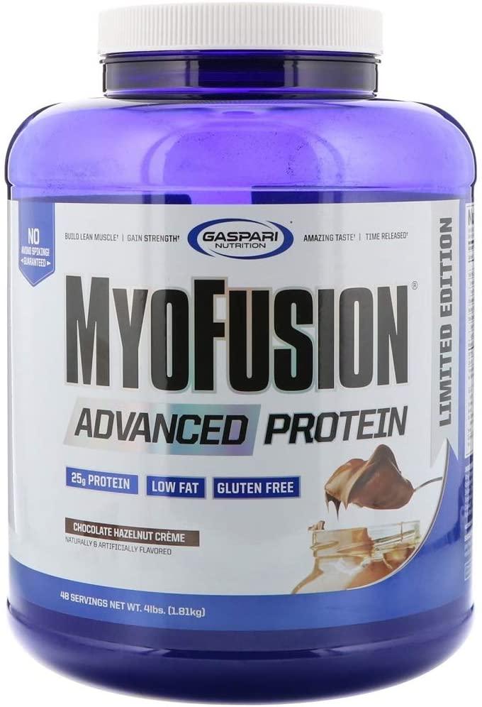 Gaspari Nutrition MyoFusion Advanced Protein, Chocolate Hazelnut Creme, 4 Pound