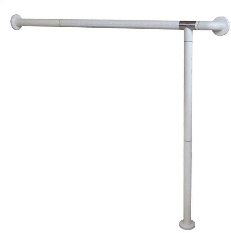 HTLLT Safety Handle Disabled Bathtub Bathroom Handrails Bathroom Bathroom Barrier-Free Safety Non-Slip Handrails,White