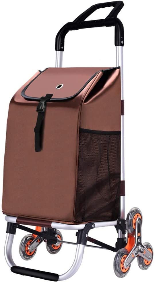 Folding Shopping Cart,lightweight Grocery Shopping Small Cart Foldable Portable Trolley Household Luggage Trailer G8 shopping cart (Color : A)