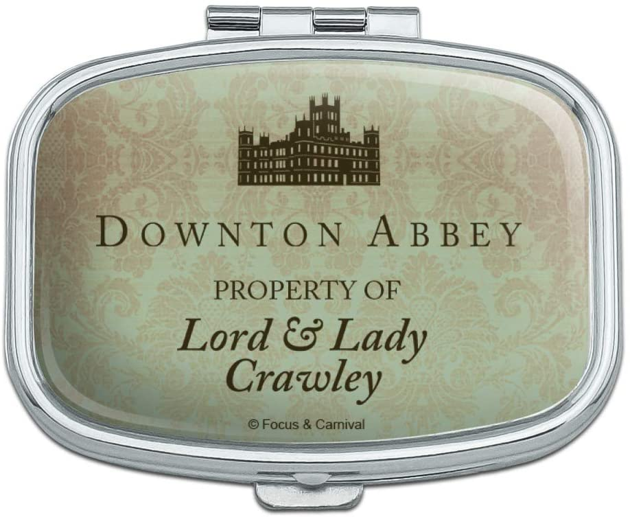 Downton Abbey Property of Lord & Lady Crawley Rectangle Pill Case Trinket Gift Box