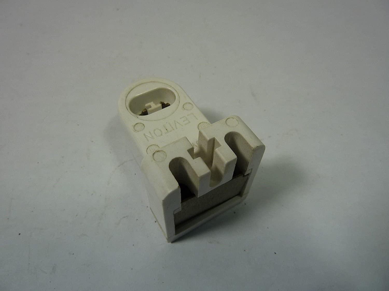 Leviton 465 High-Output Base Double Contact Fluorescent Lampholder