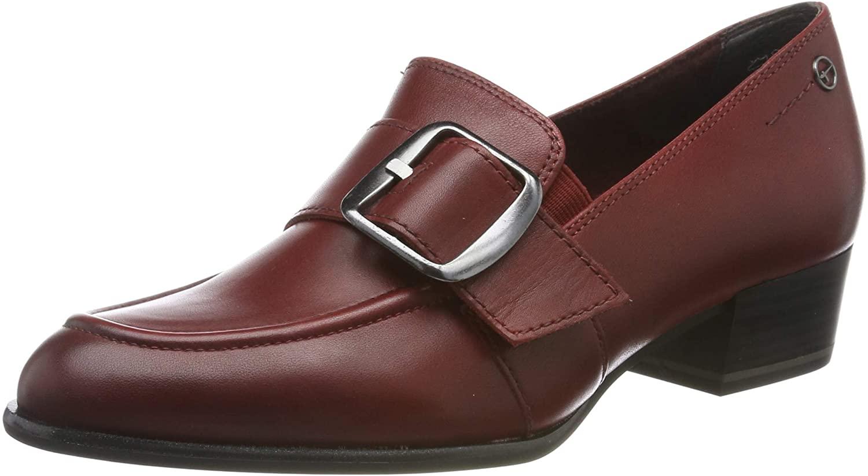 Tamaris Women's Loafers, Red Scarlet 501, 4 UK