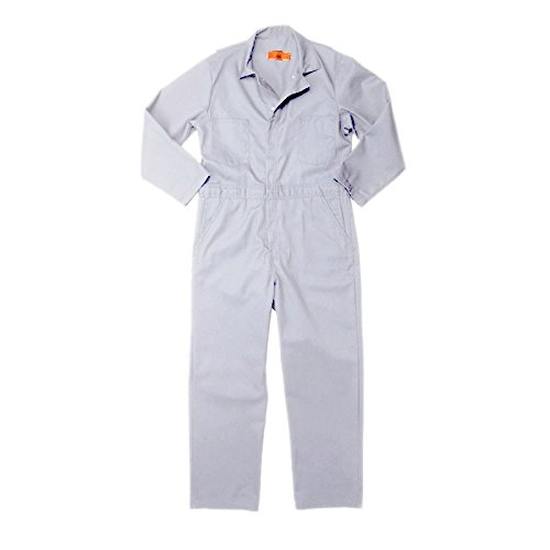 Pinnacle Textile CV10 7.5 OZ Twill 65/35 Polyester/Cotton, COVERALL-Sizes-38-White