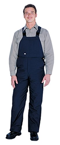TOPPS SAFETY BO05-5605-Tall/30-32 BO05-5605 Nomex Unlined Bib Front Overall, 6 oz, Small Tall, Size 30-32, Navy Blue