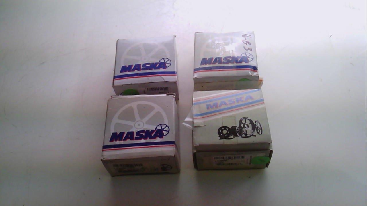 Maska Lx20mm - Pack of 4 - Bushing, Bore: 20Mm Lx20mm - Pack of 4 -