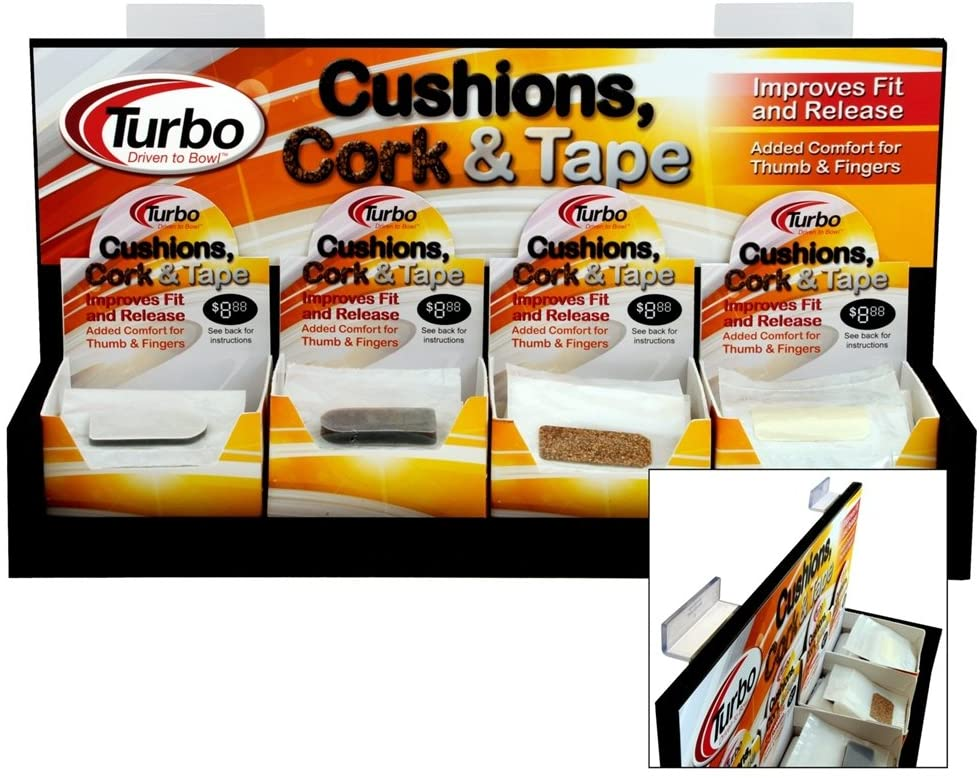 Bowlerstore Products Turbo Shur Cushion 1/4 Inch- 20 Count