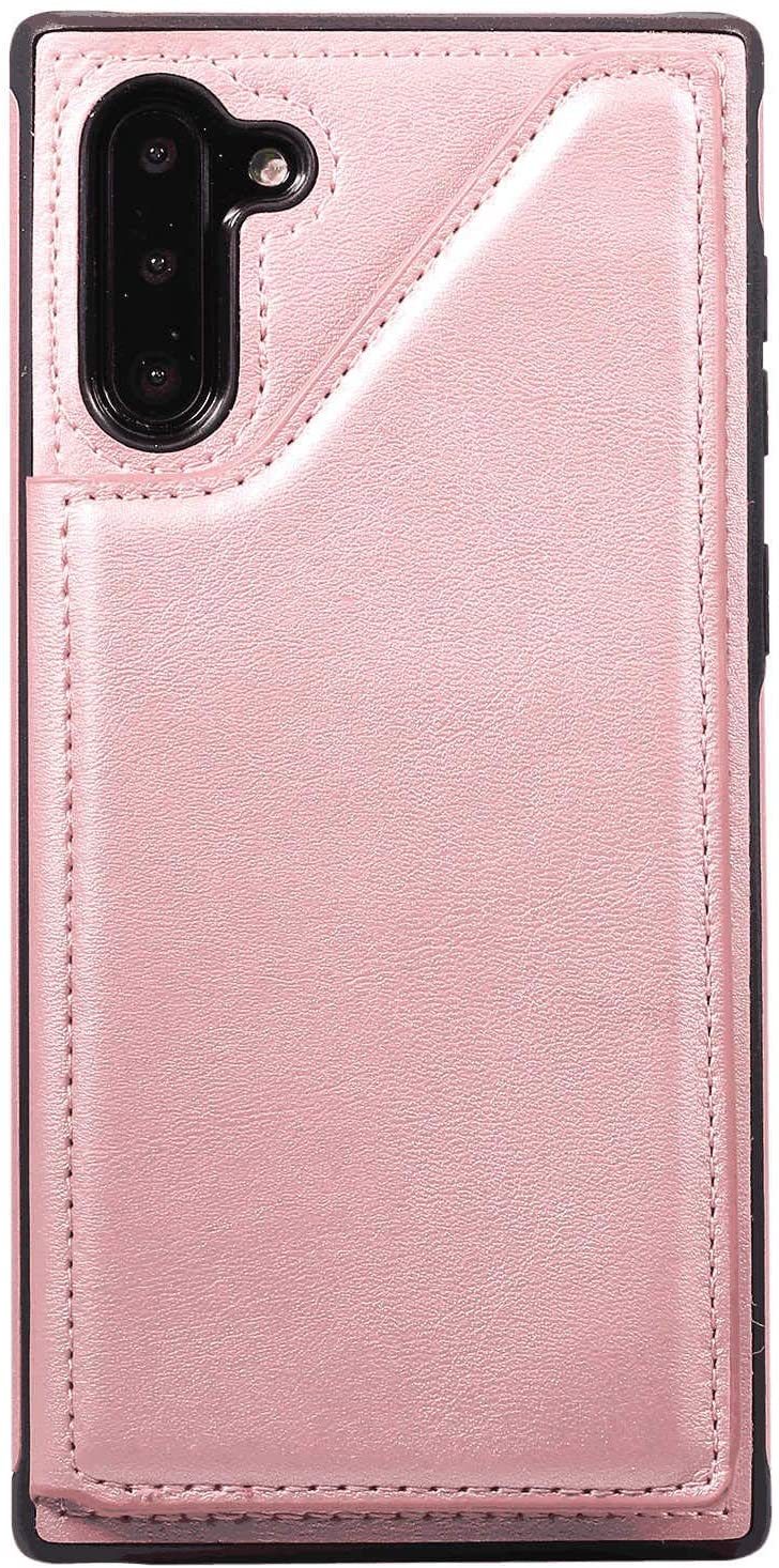 LQinuan Samsung Galaxy S9 Flip Case, Cover for Leather Card Holders Kickstand Extra-Shockproof Business Mobile Phone Cover Flip Cover