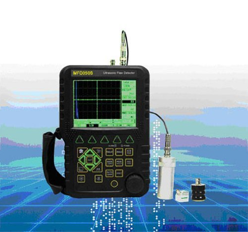 Mitech MFD350B Digital Ultrasonic Flaw Detector 0 to 6000 mm at Steel Velocity