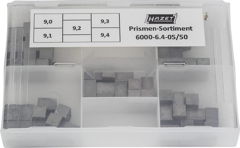 Hazet 6000-6.4-05/50 50 Piece 9.0-9.4X6.4mm Replacement Prism Set