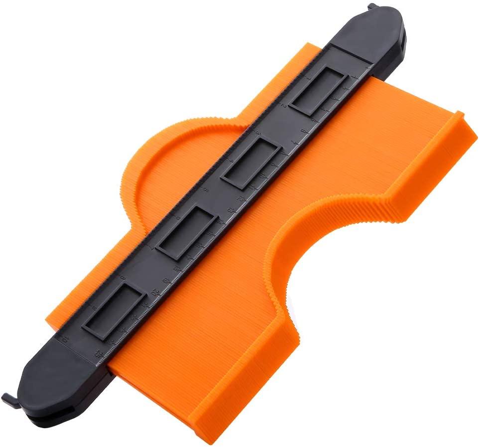 Contour Gauge with Double Lock Widen Profile Gauge Contour Duplicator 10