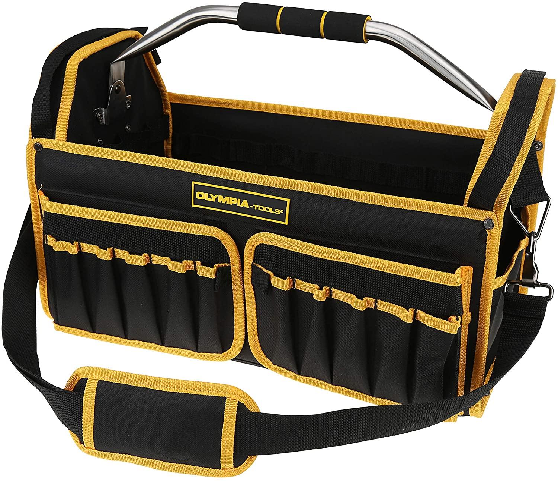 Olympia Tools 18-1/2 Inch Tools Bag with Tubular Handle, 87-745