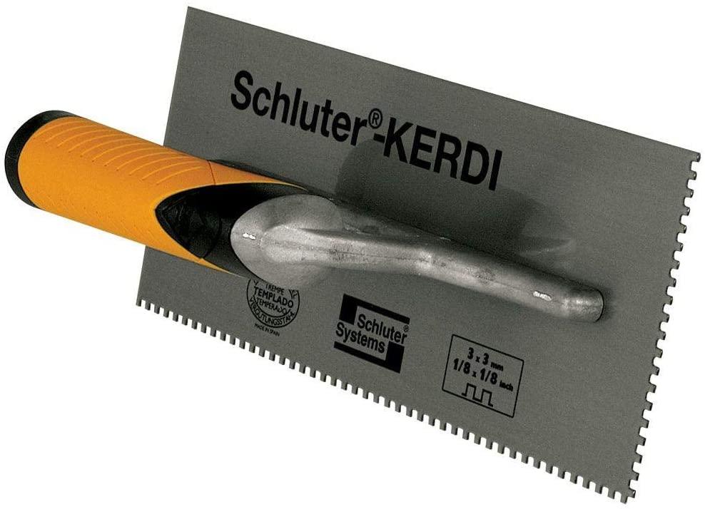 SCHLUTER SYSTEMS KERDI 1/8 X 1/8 SQUARE NOTCH TROWEL