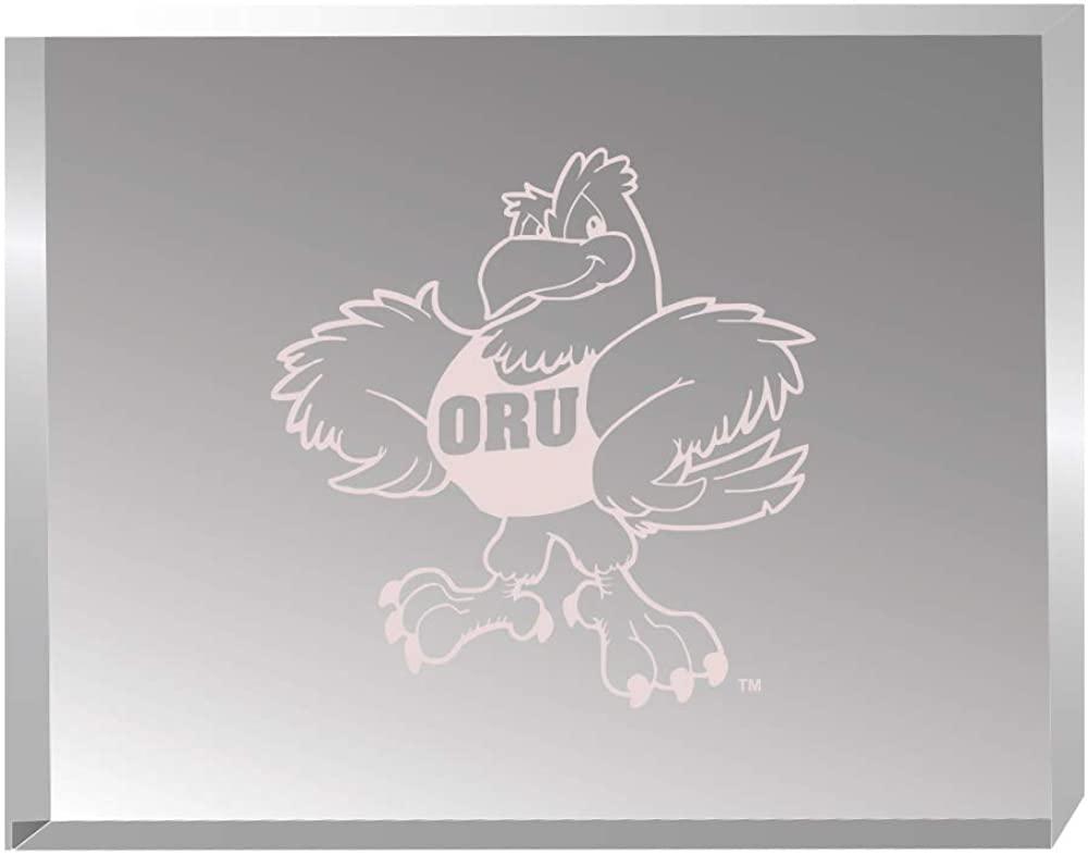 Oral Roberts University -Acrylic Award Desk Piece/Paperweight