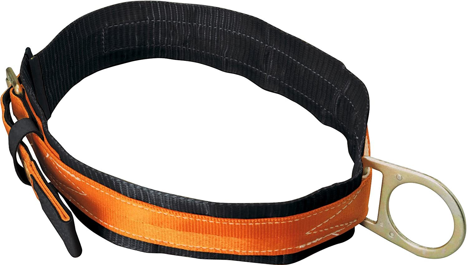 Miller Titan by Honeywell T3310/LAF Tongue Buckle Body Belt with Single D-Ring and 3-Inch Back Pad, Large
