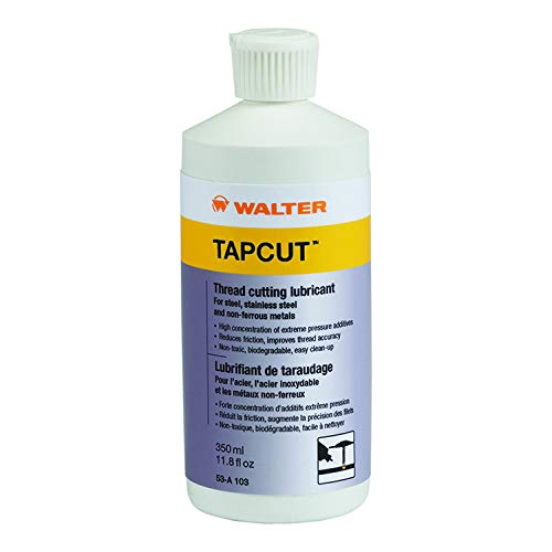 Walter Surface Technologies TAPCUT Tread Cutting Lubricant 350ML / 11.8 FL. OZ. PK12