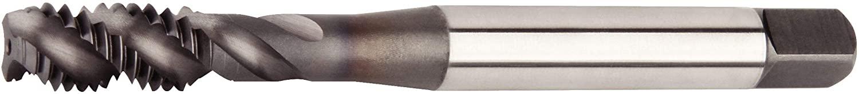 WIDIA GTD VTSFT9773 VariTap VTSFT97 Multipurpose Tap, Semi Bottom Chamfer, Right Hand Cut, 3 Flutes, 5/8-11, Carbide, TiCN Coating