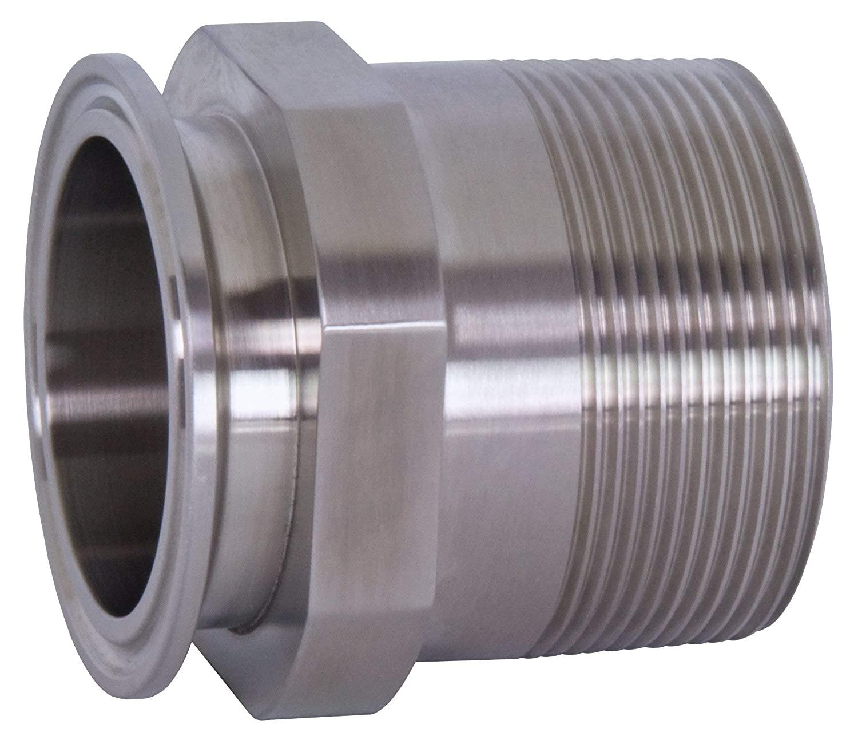 Dixon 21MP-R20050 2 x .50 316L Clamp x Male NPT Adapter