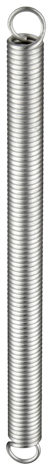 Extension Spring, 302 Stainless Steel, Inch, 0.18