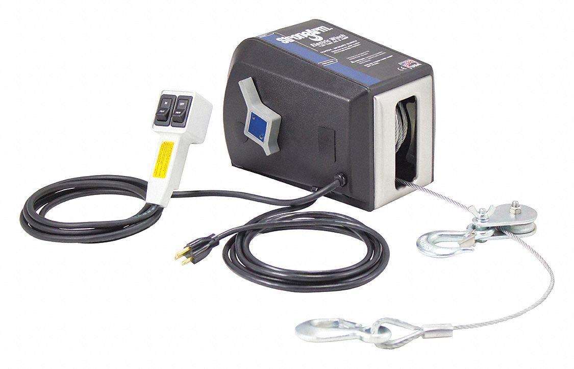 Electric Winch 1HP 120VAC