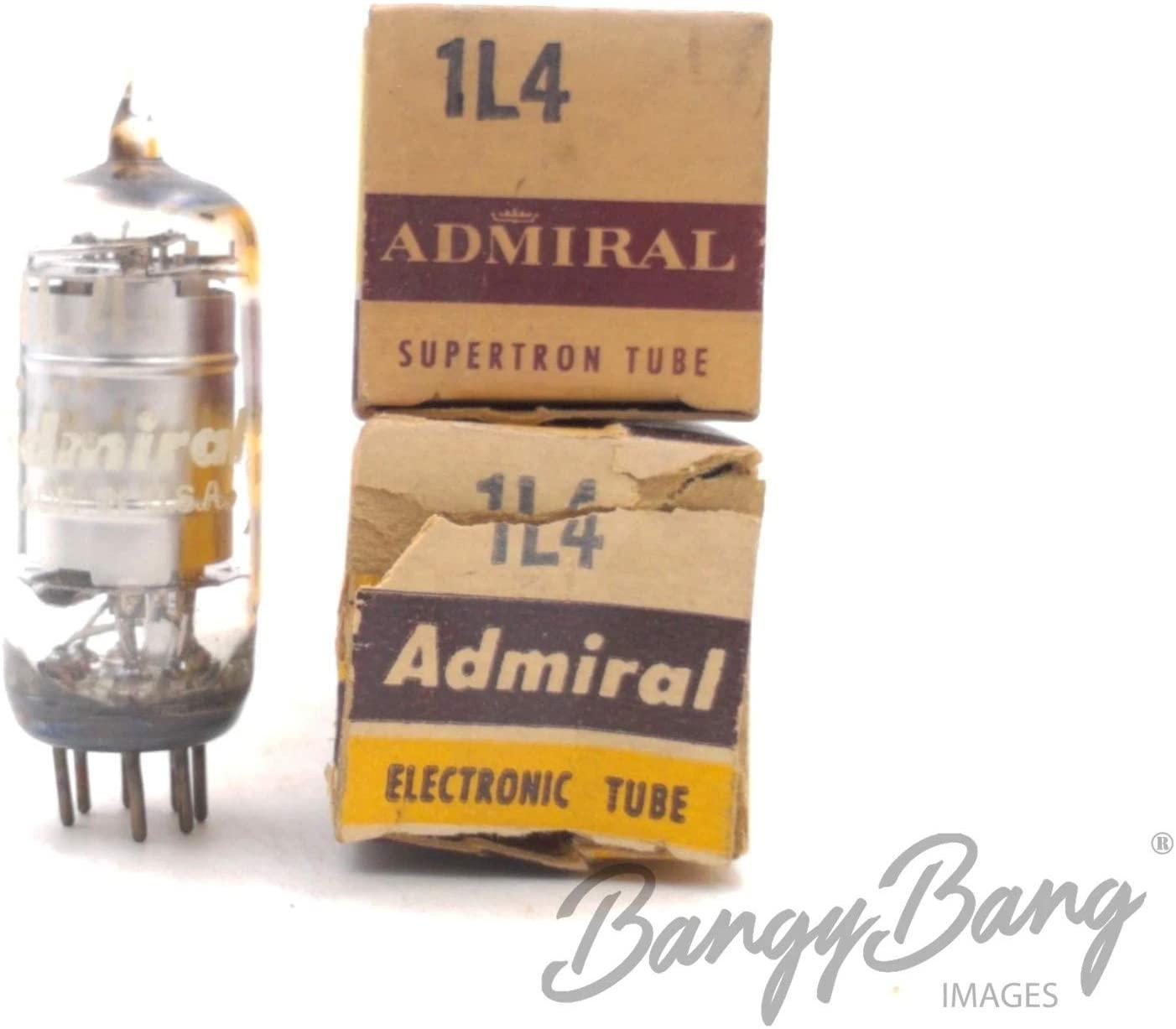 2 Vintage Admiral 1L4/DF92/CV1758 Miniature Voltage Amplifier Pentode - BangyBang Tubes