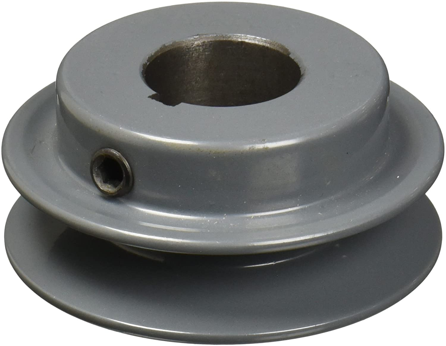 TB Woods AK2558 FHP Bored-to-size V-Belt Sheave, A Belt Section, 1 Groove, 5/8