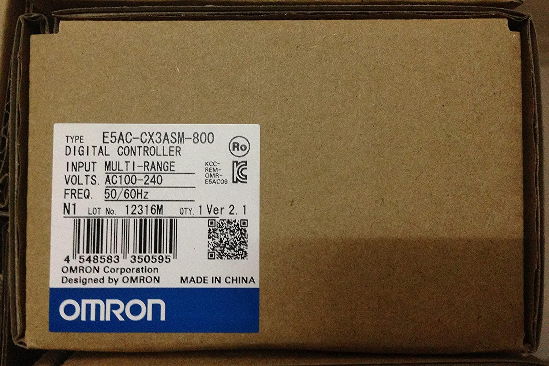 Omron E5ACCX3ASM800 Digital Temperature Controller, -200 to 2300 deg C