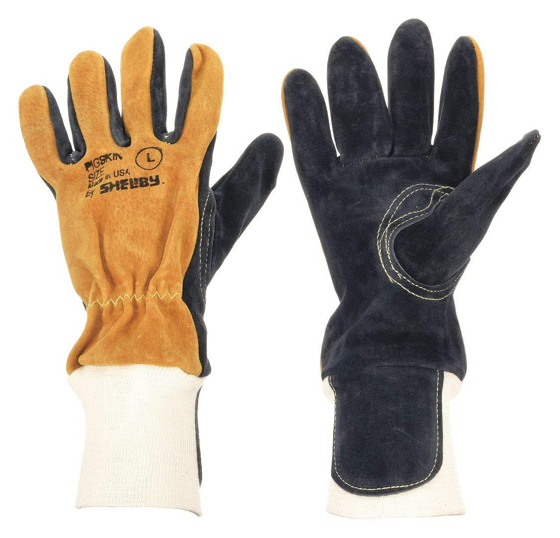 Firefighters Gloves, M, Pigskin, PR