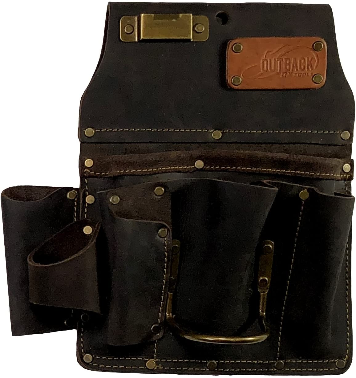 OX Tools Drywaller's Tool Pouch | Oil-Tanned Leather