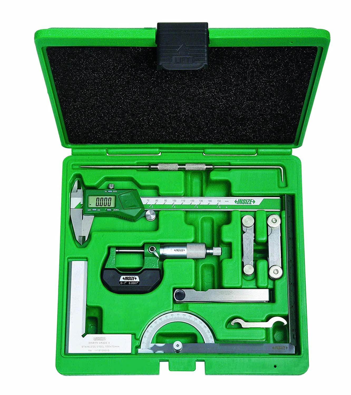 INSIZE 5091-E Measuring Tool Set, 9 Piece
