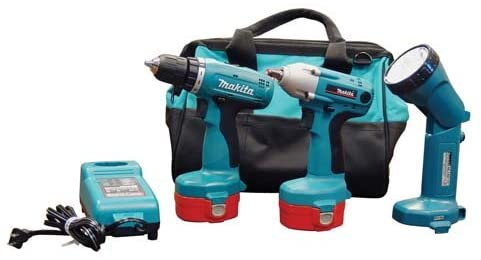 Makita 6933FDX1 14.4V Cordless 2-Piece Combo Kit (Discontinued by Manufacturer)