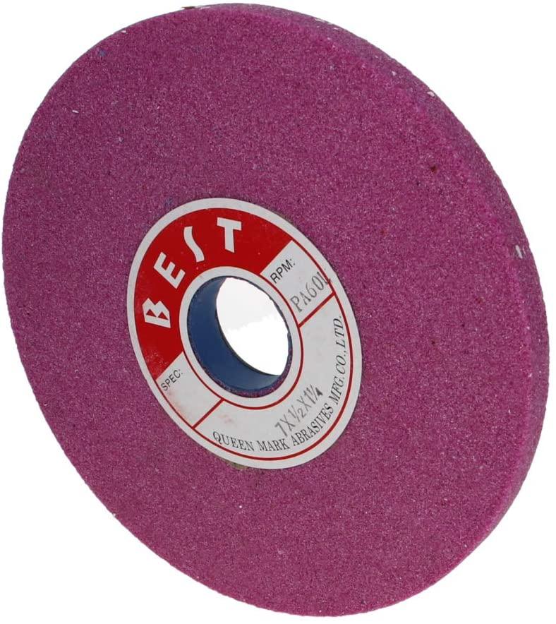 Utoolmart Bench Grinding Wheels Chrome Corundum 60Grit for Surface Grinding 1pcs