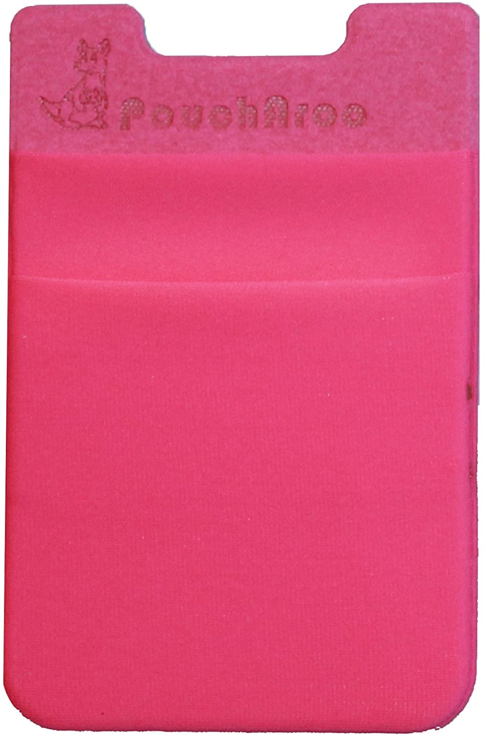 Dreamtex Home Poucharoo Stick-On Wallet for Smartphone (1 Pack), Hot Pink