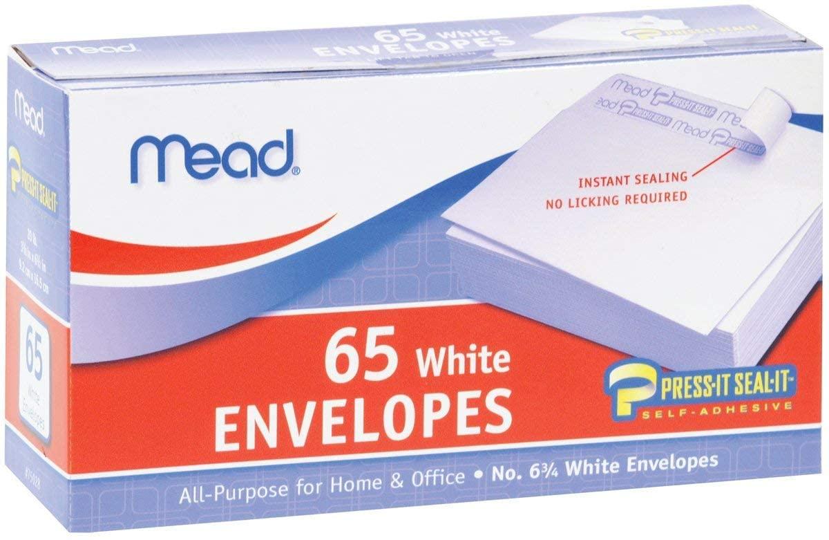 MEA75028 - Mead Press-it Seal-it Business Envelope