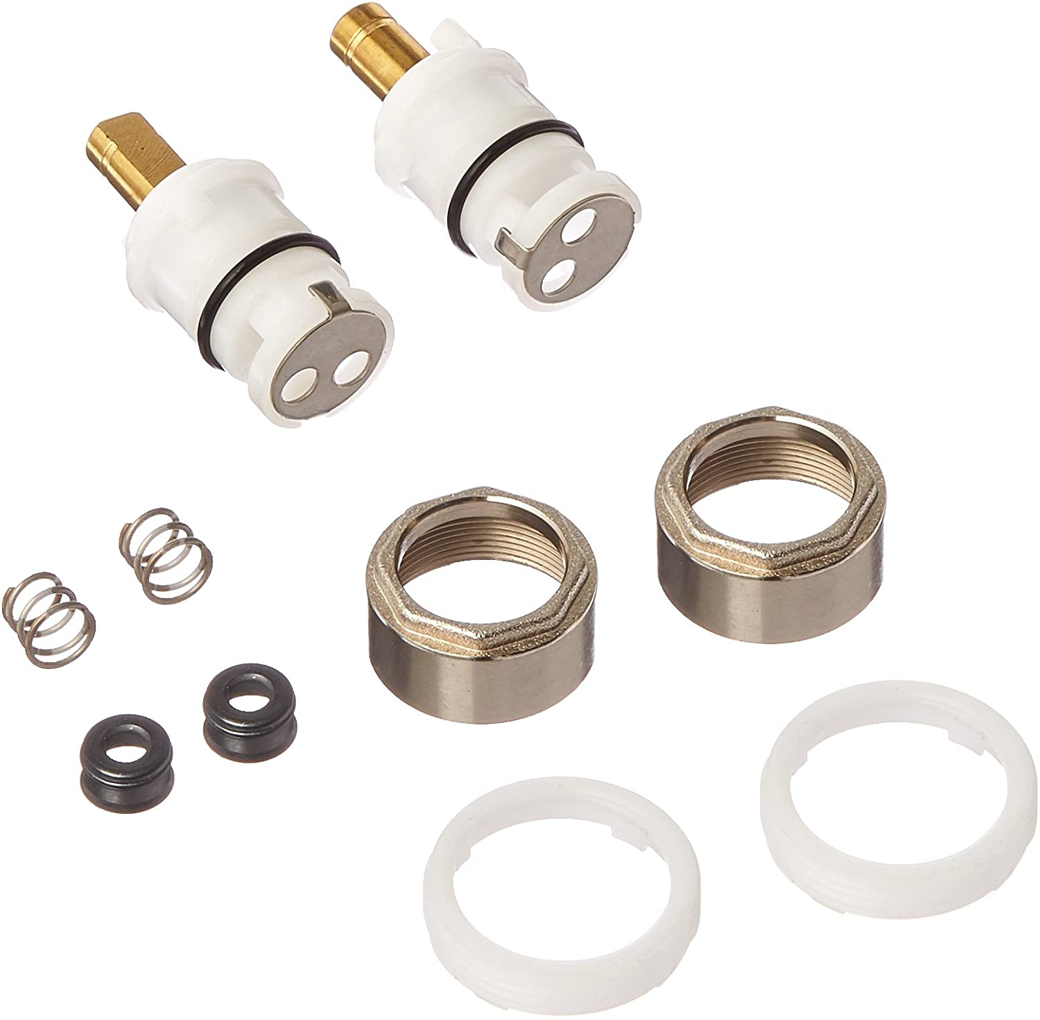 Delta FAUCETS RP74418 Stem Unit Seat and Spring, Bonnet Nut and Washer