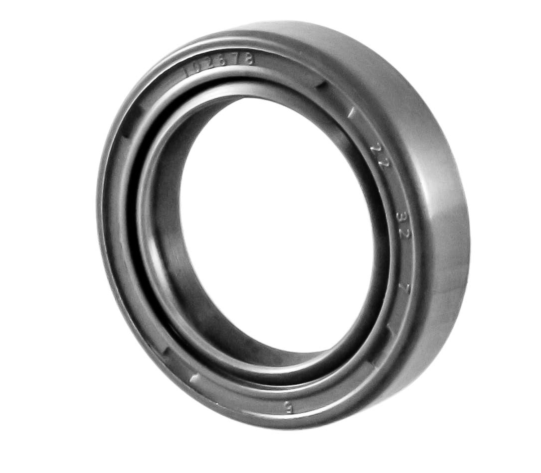 EAI Oil Seal 22mm X 32mm X 7mm TC Double Lip w/Spring. Metal Case w/Nitrile Rubber Coating