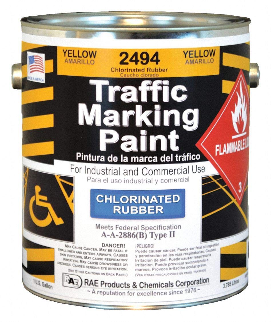 Zone Marking Paint, Yellow, 1 gal.