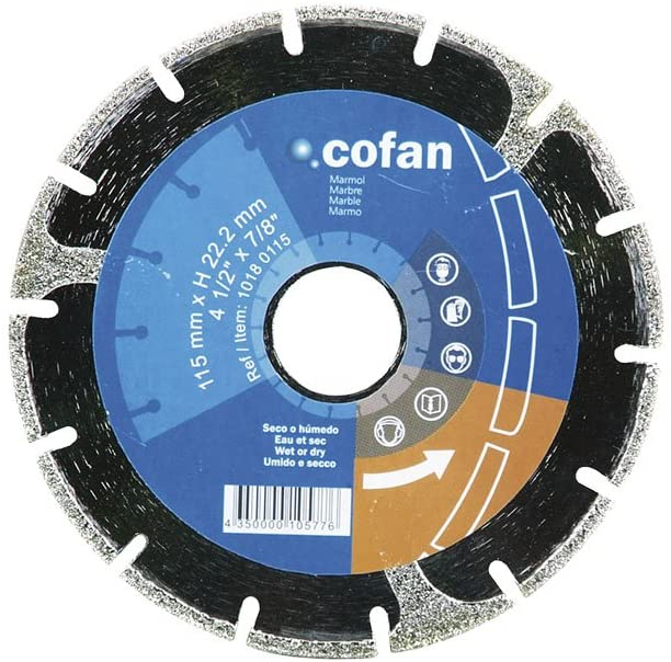 Disc Electroplated Blade With Enforced Pad 230Mm