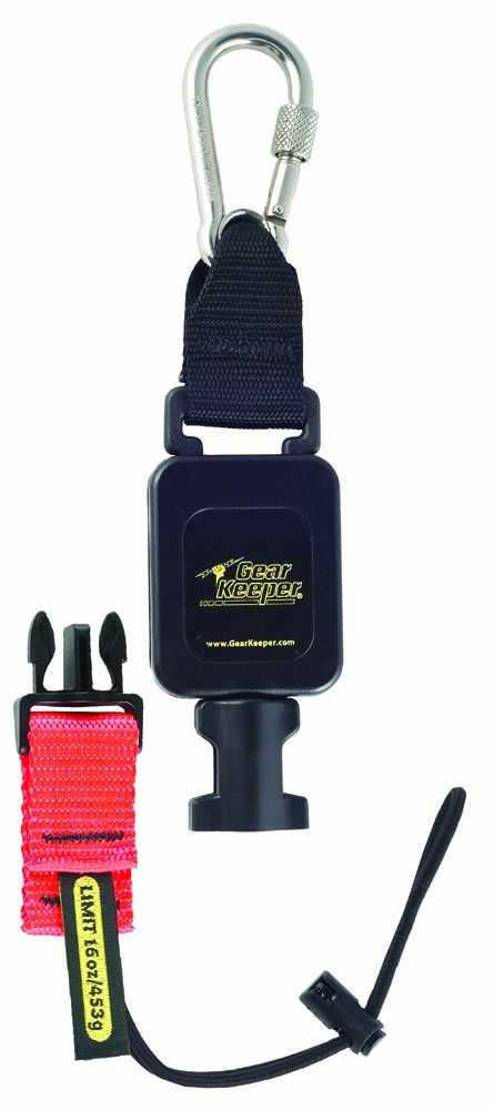 Gear Keeper RT4-5602 Retractable Tool Lanyard with Carabiner Mount, 16 oz Tool Limit, 36