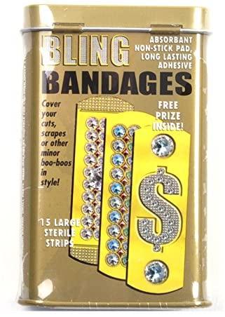Accoutrements Bling Novelty Bandages