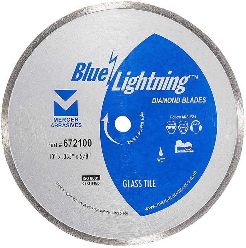 Mercer Industries 672100 Diamond Blade for Glass Tile, 10