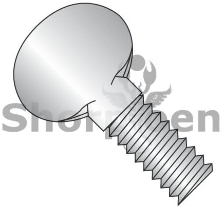 1/4-20X2 Thumb Screw Plain Full Thread 18-8 Stainless Steel - Box Quantity 300 BC-1432T188