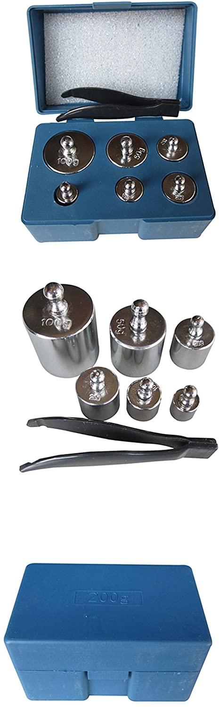 MAGIKON Precision Steel Scale Calibration Weight Kit , M2 Class , 205 Gram