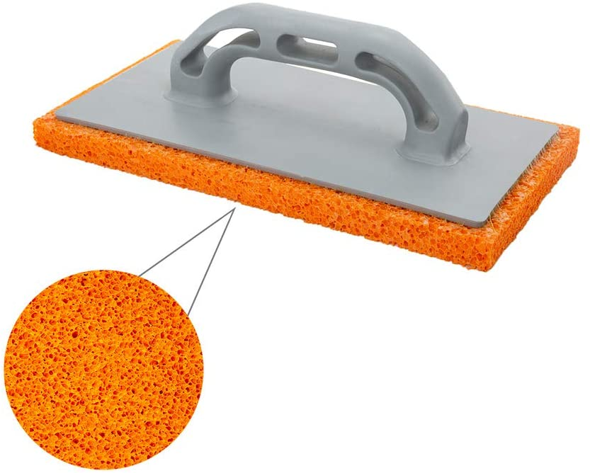 Wolfpack 2300357 Talocha Foam Orange Fibre Handle 14 x 28 cm Thick Finish