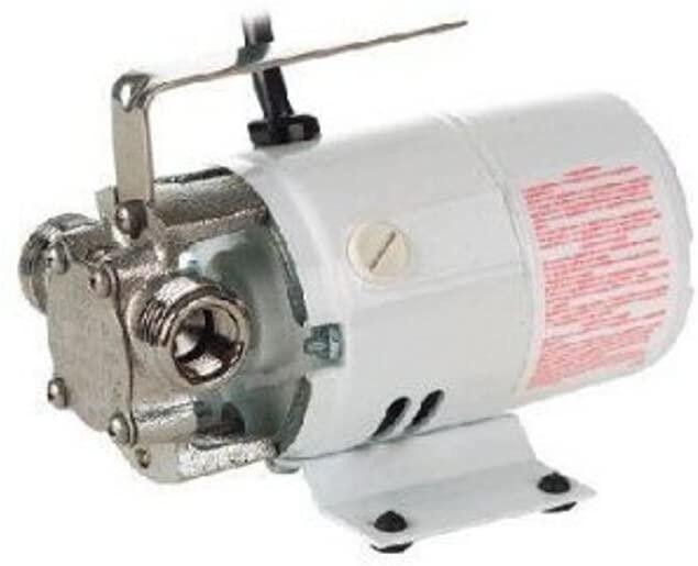 Little Giant 555502 360-Gallon Per Hour Pony Pump Series Non-Submersible, Self-Priming Transfer Pump