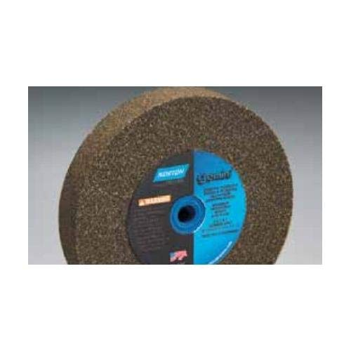 Grinding Wheel, 8 in. Dia, AO, 36/46G, Brown