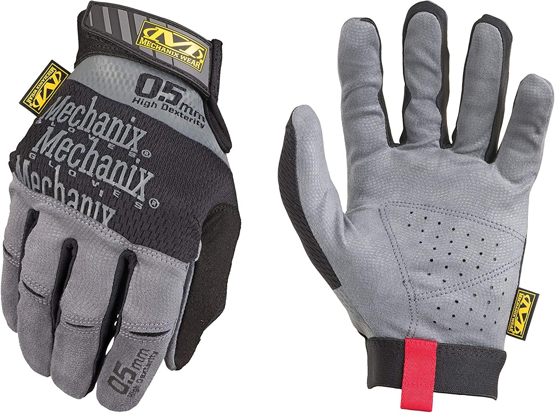 Mechanix Wear: Specialty 0.5mm High-Dexterity Work Gloves (Small, Black/Grey)