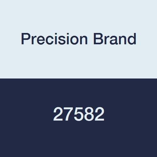 Precision Brand 27582 Threaded Rod, Plain Oil Finish, 24 Length, National Coarse 2-4-1/2 Thread, Low Carbon Steel