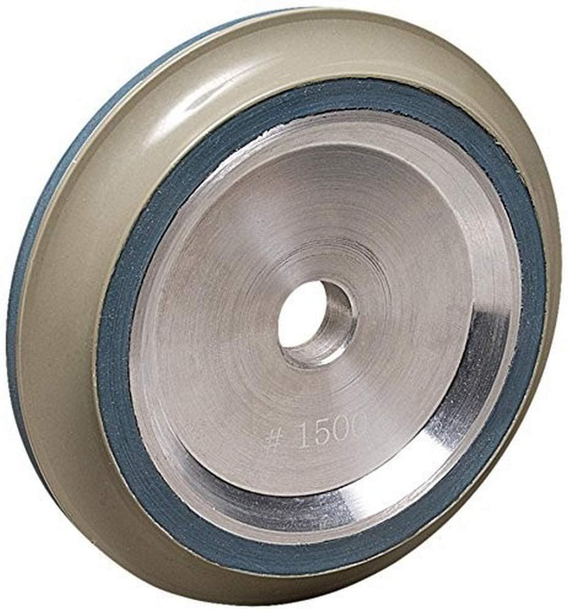 MK Diamond 166090 3500 Grit Resin Bond B-Profile Wheel, DX 15mm Radius